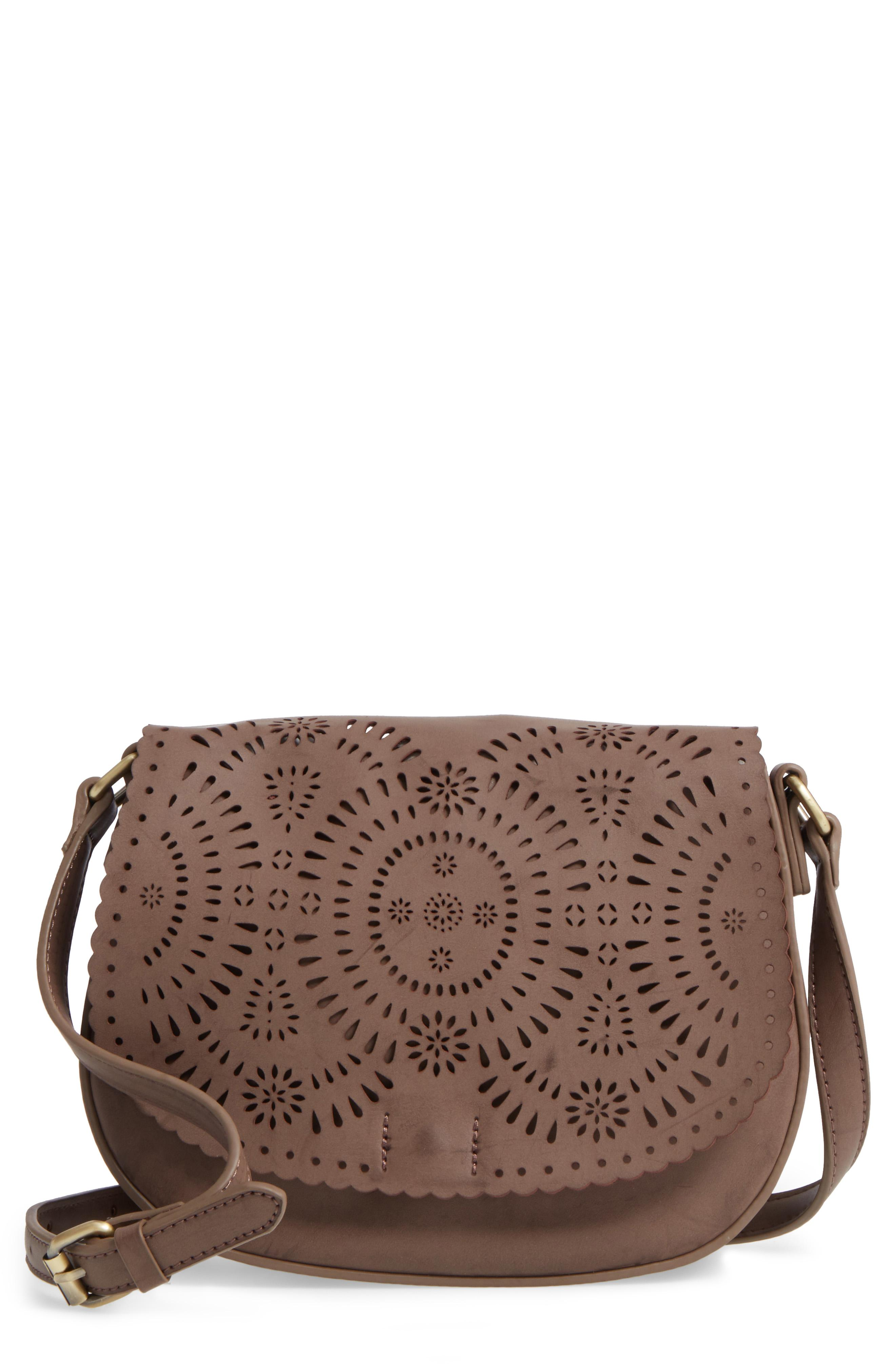 Shiraleah Dakota Faux Leather Saddle Bag from Nordstrom // Price: $40.00 //{&amp;nbsp;}(Image: Nordstrom // Nordstrom.com){&amp;nbsp;}<p></p>
