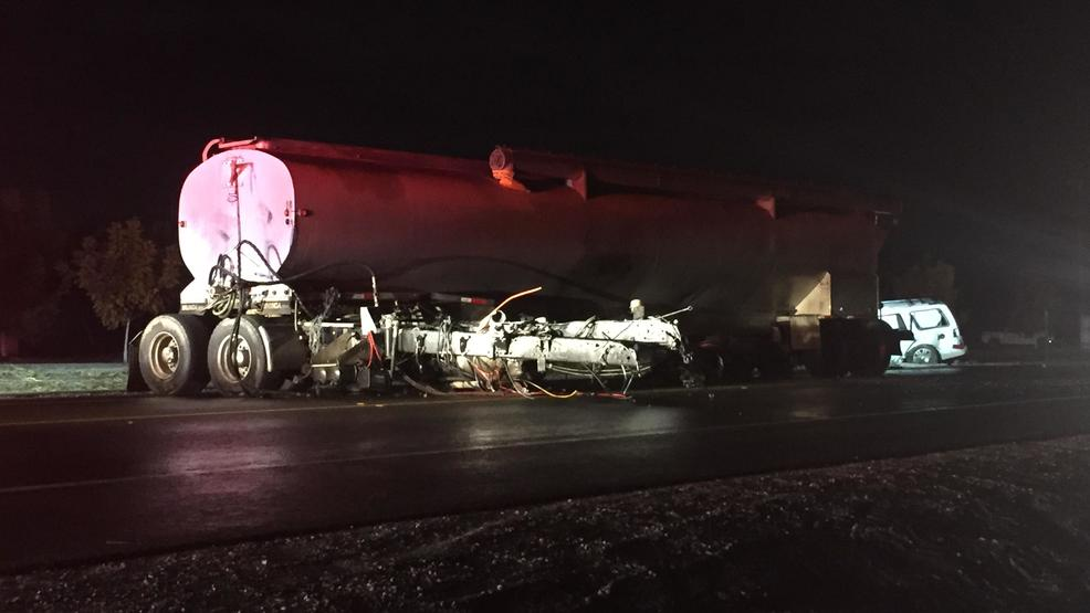 Deadly crash forces C H P  to close Highway 43 west of