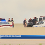 Teen leads police on high speed chase until stopped by spike strips
