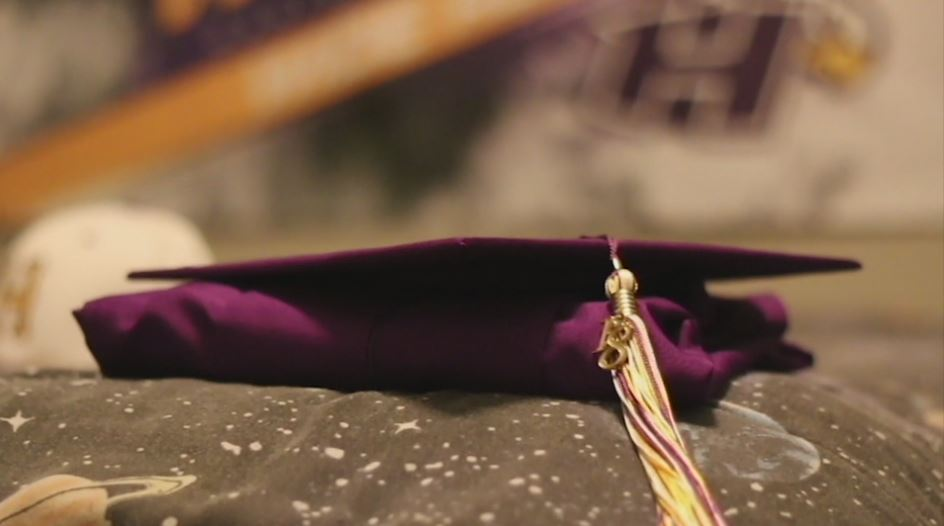 Dmetri would have graduated from Hanford High in a matter of days, following his death. The Hanford High graduation ceremony honored their late classmate.