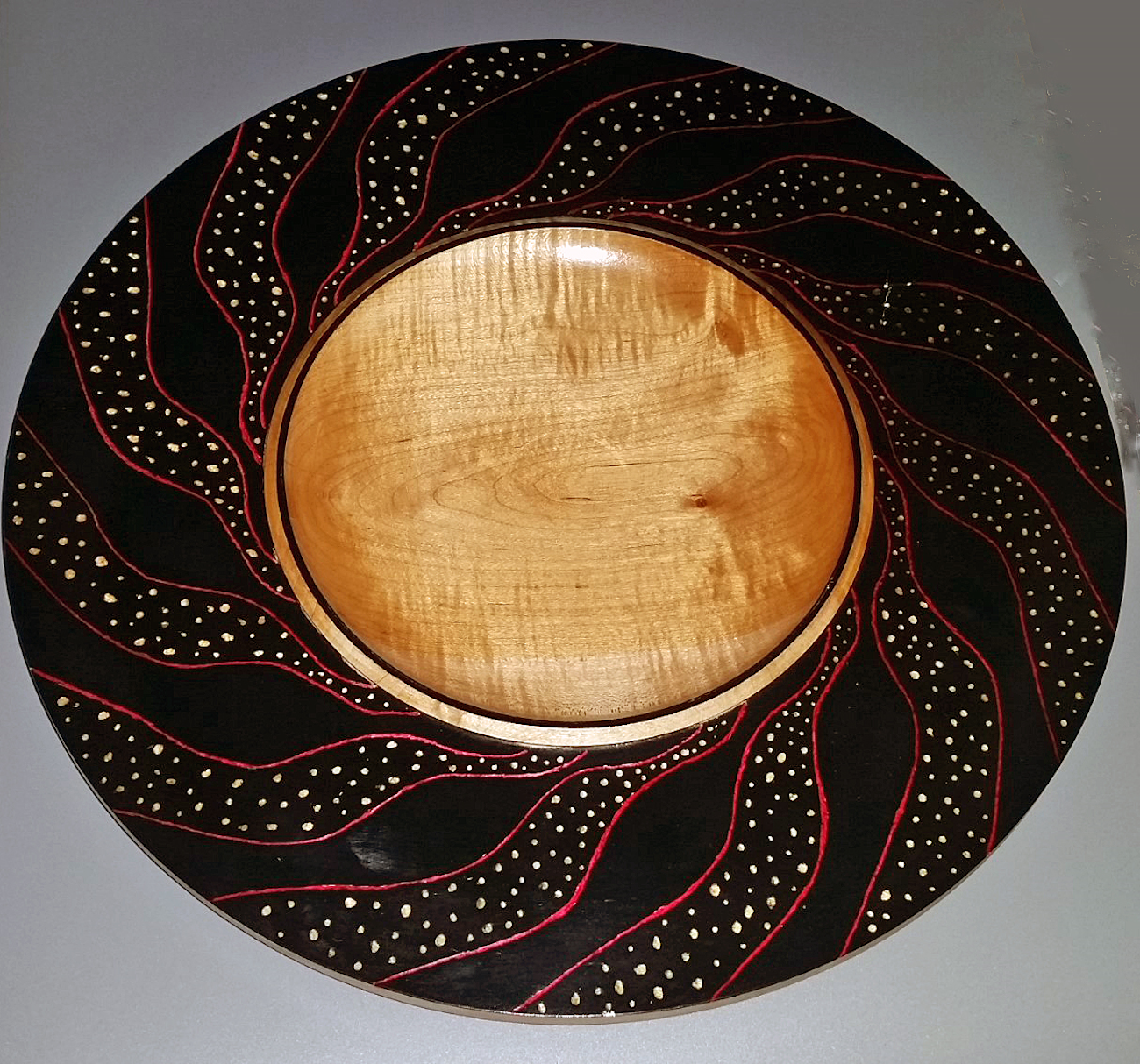Work by Nancy Bowman, a 16-year woodturning veteran / Image: Nancy Bowman// Published: 4.18.19