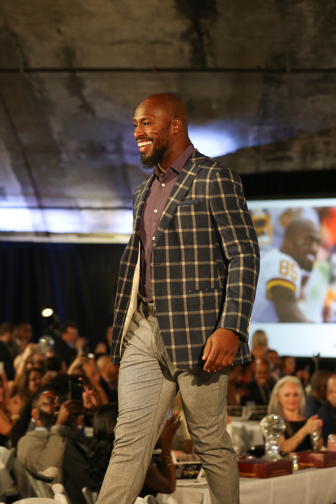 Vernon Davis of the Washington Redskins. (Amanda Andrade-Rhoades/DC Refined)