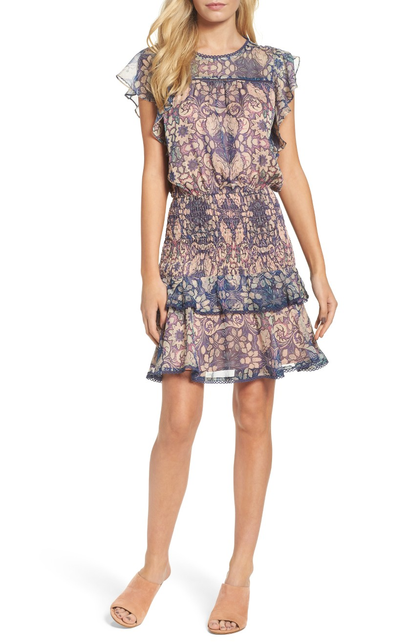 Tiered Blouson Dress, $139                                    (Image: Nordstrom)