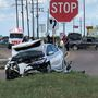 Major accident in Port Arthur