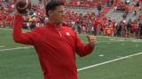 Diaco confronts reports of skipping media session