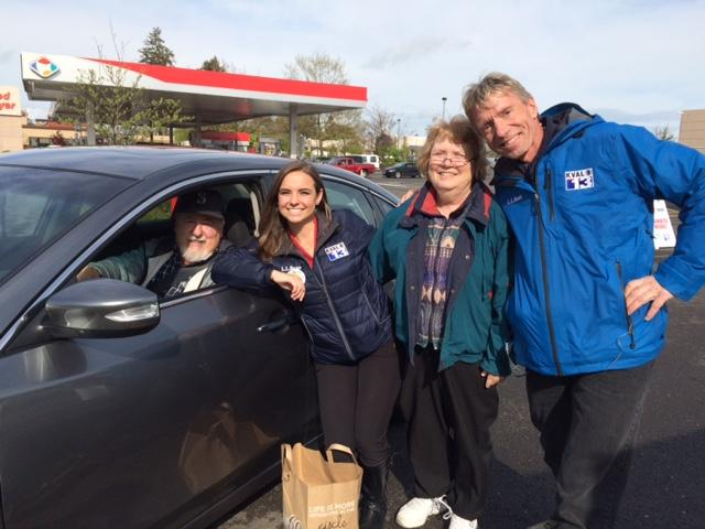 The community turned out to support Food for Lane County by donating non-perishable food items and cash as part of the KVAL Can Do! Food Drive#LiveOnKVAL Wednesday, April 13, 2016.