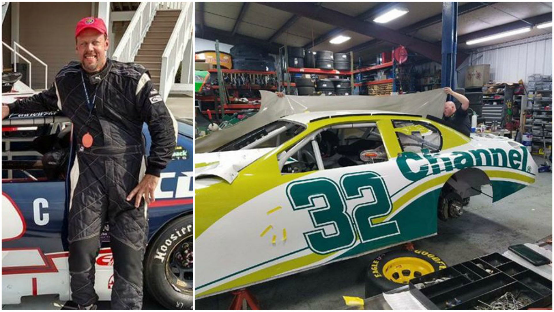 A CNY farmer will be making his NASCAR debut on Friday at Watkins Glen/ Photos courtesy Vicky Neelie