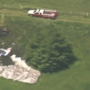 Video: Blimp crashes near US Open course, pilot injured