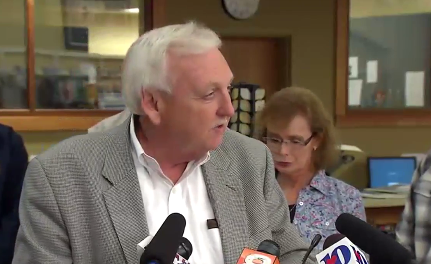 Sevier County, Tenn. Mayor Larry Waters says three people were rescued on Wednesday, Nov. 30, 2016, but three more bodies were also discovered as a result of fires that engulfed the county. (WZTV)