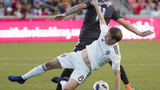 RSL needs late flurry to beat 10-man Rapids 3-0