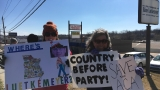 Congressman's apparent lack of communication prompts protest in Jefferson City
