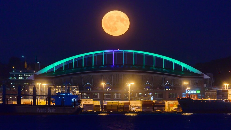 Photos: Harvest Moon puts on a show over the weekend