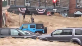 Significant flooding sweeping through Ellicott City; water rescues carried out