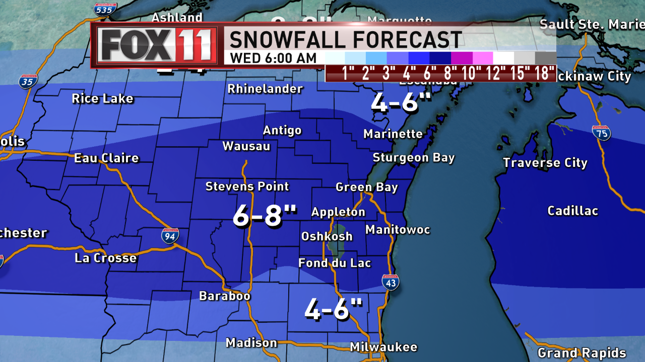 Winter Storm Dan (WLUK)<p></p>