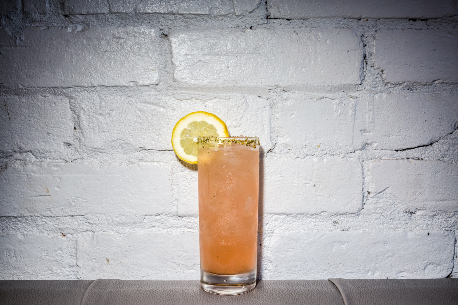 Za'atargarita: El Jimador Blanco, za'atar syrup, grapefruit juice, and lemon / Image: Catherine Viox{ }// Published: 9.30.19