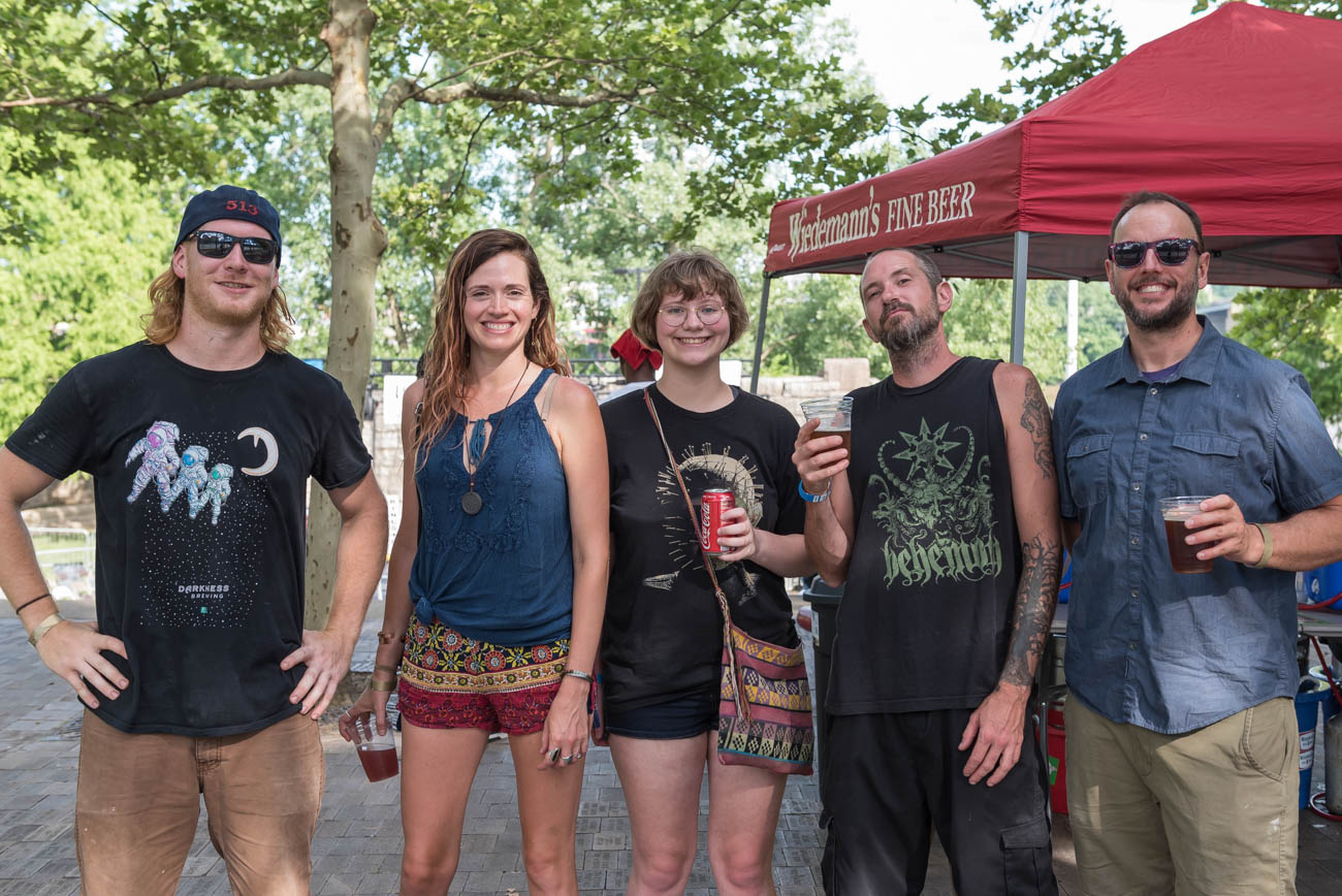 From Darkness Brewery - Clint, Amanda, Ray, Rick, and Ron{ }/ Image: Mike Menke