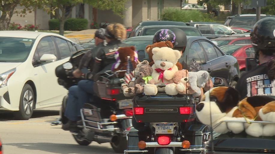 Hundreds of motorcyclists roared through our region Saturday, with the hope of helping children in need. (WEYI)