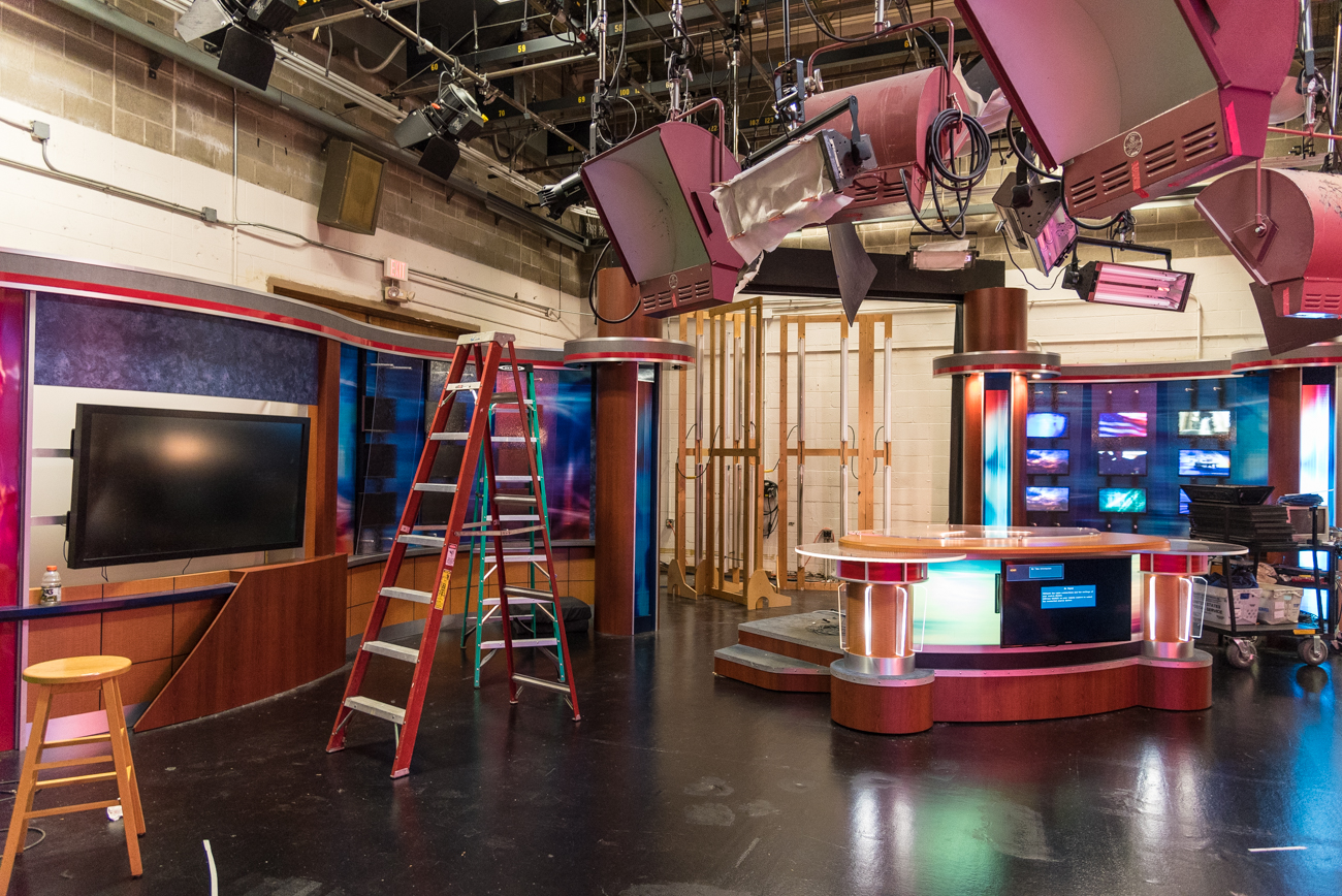 The old studio set /  Image: Phil Armstrong, Cincinnati Refined