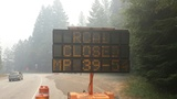 Hwy 138 closed east of Glide due to wildfires; evacuation order in effect