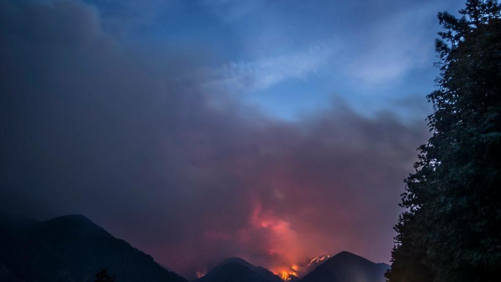 The Fire Which Authorities Believe Was Started By A 15 Year Old Boy Playing With Firework On Sept 2 Has Grown To 48 387 Acres But 32 Percent