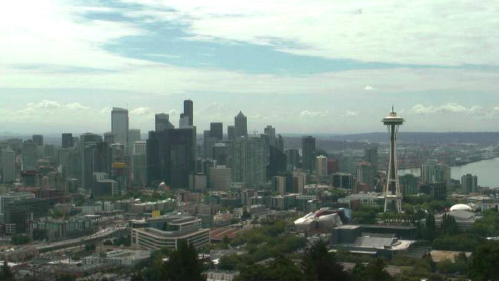 Seattle's dry streak survives Thursday's rain showers; record now in sight