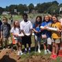 North Little Rock Middle School 6th graders bury time capsules