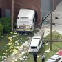 Bus crashes into building in Detroit