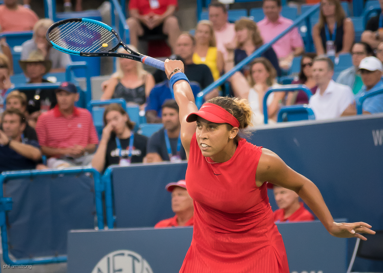 Madison Keys / Image: Phil Armstrong, Cincinnati Refined // Published: 8.15.17
