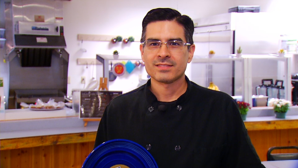 Kitchen Cops:  Blue Plate Winner, infusa cafe