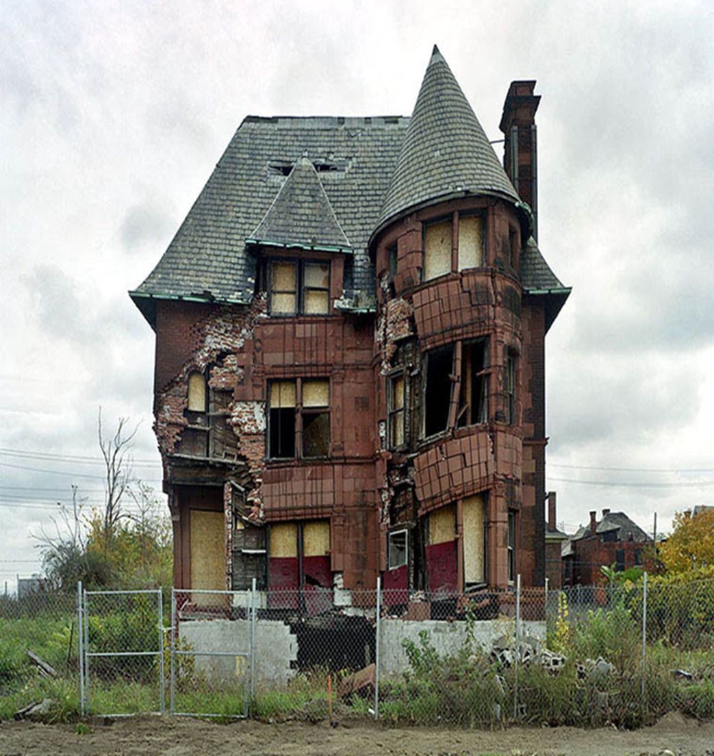Trap house Brittany lived in, in Detroit Photo Credit: Katie Donovan
