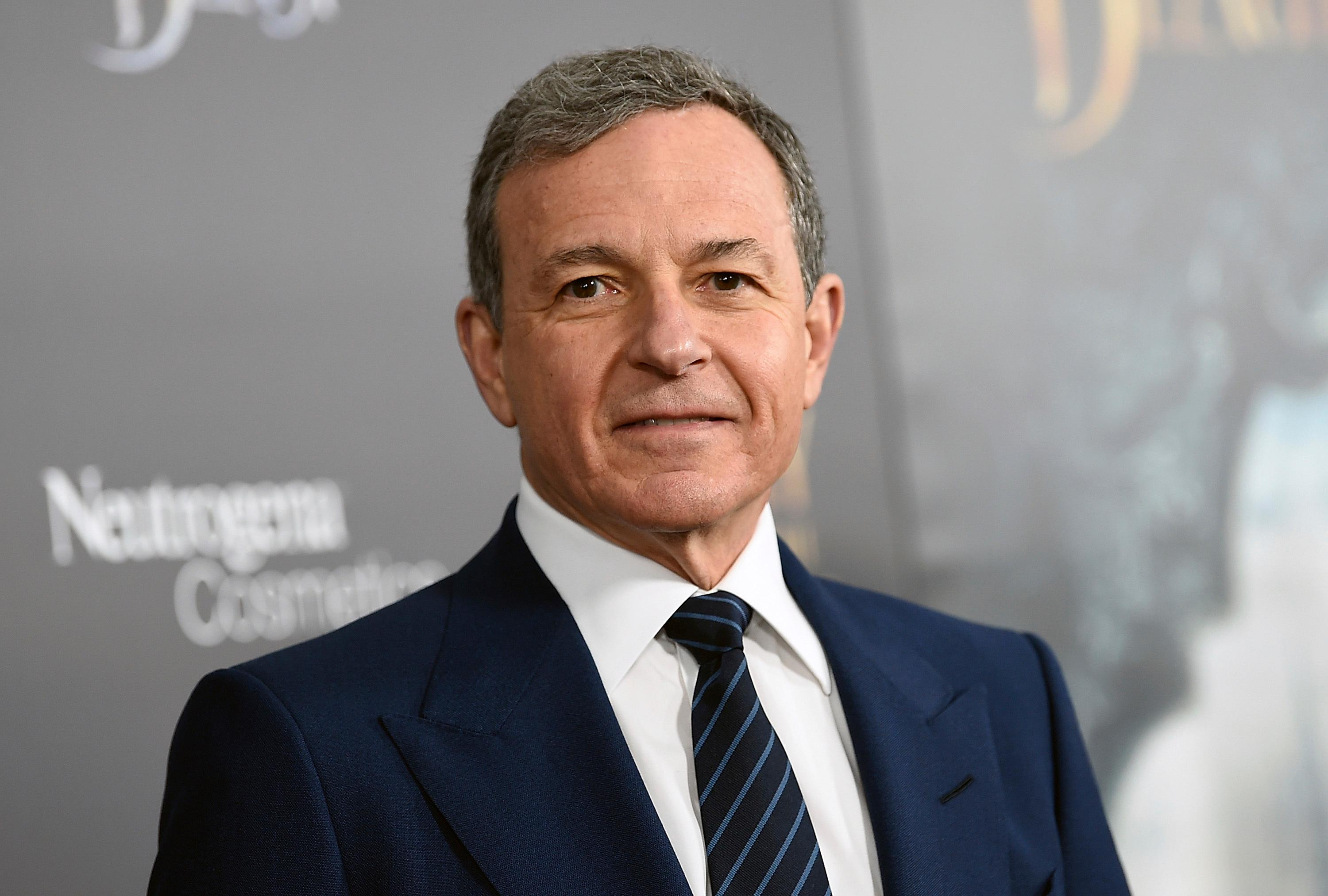 "FILE - In this Monday, March 13, 2017, file photo, The Walt Disney Company CEO Robert Iger attends a special screening of Disney's ""Beauty and the Beast"" at Alice Tully Hall in New York. (Photo by Evan Agostini/Invision/AP, File)"