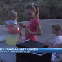"8-year-old Reno girl ""stands"" against cancer"