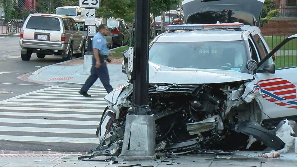 Police vehicle hits Uber driver\'s car in violent crash, officer ...