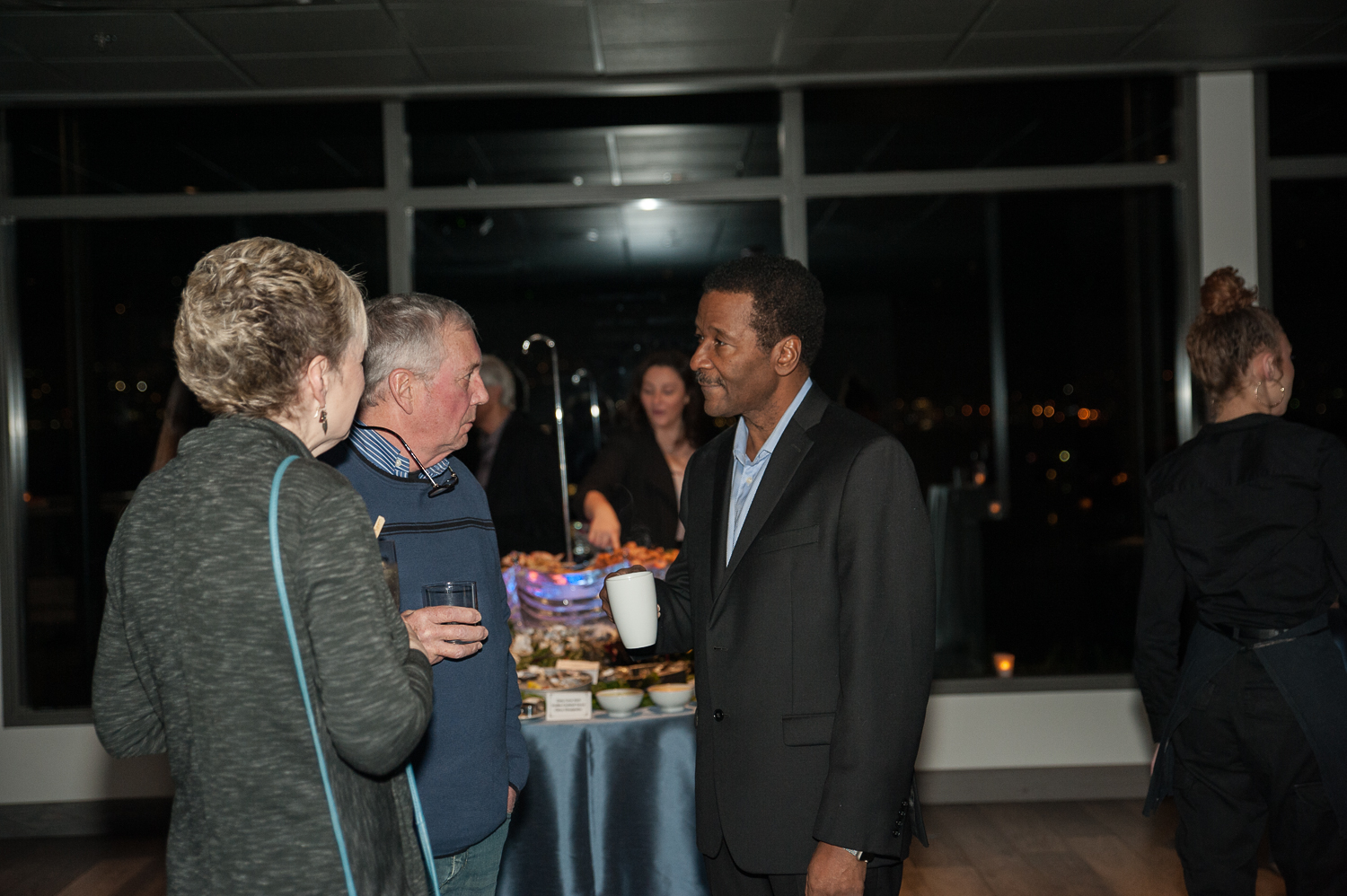 "While we said goodbye on air and online to KOMO's beloved weatherman Steve Pool in November 2019, it's not official until there's a party - right?? KOMO family, industry friends and local VIPs gathered to celebrate the man, the myth, and the legend in style at{&nbsp;}<a  href=""https://docksideatdukes.com/"" target=""_blank"" title=""https://docksideatdukes.com/"">Dockside at Dukes</a>{&nbsp;}in Seattle. Among many in attendance were KOMO colleagues Mary Nam, Dan Lewis, Eric Johnson, Connie Thompson, Janene Drafs and Scott Altus, radio personality Bender Cunningham, hair titan Gene Juarez and many, many more. Here's to you, Steve! (Image: Elizabeth Crook / Seattle Refined)"