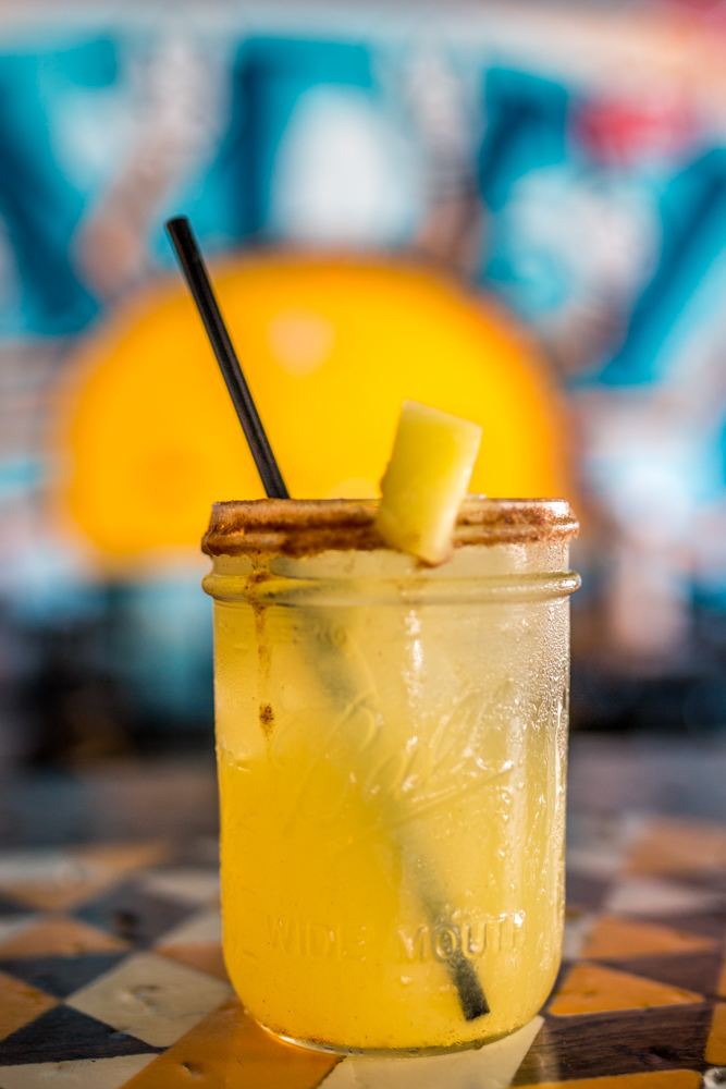 Pineapple Express: blanco tequila, triple sec, lime, pineapple juice, cinnamon, and agave / Image: Catherine Viox{ }// Published: 6.9.19