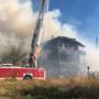 Massive fire in Sanford burns several buildings