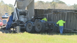 Truck driver killed, I-26 overpass badly damaged in fatal Orangeburg wreck
