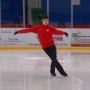 Local skater takes fifth place in national championship
