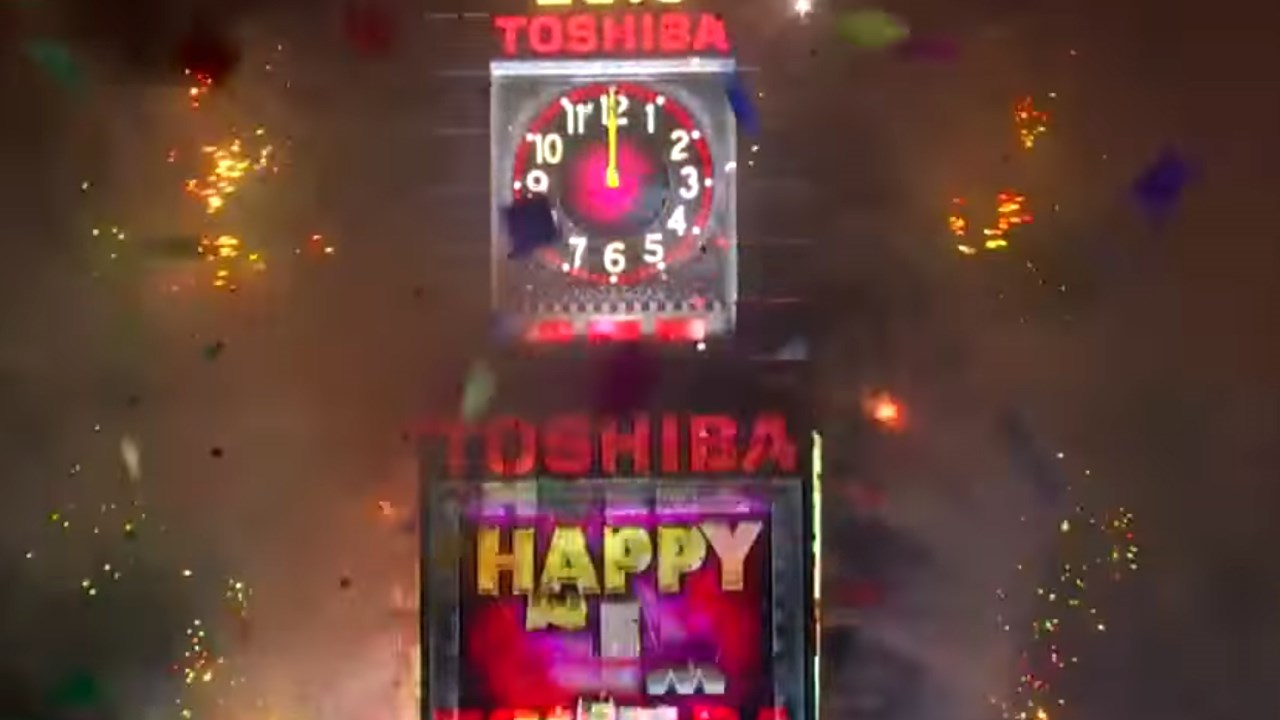 New Yorkers, celebrity entertainers and tourists from around the world will pack into Times Square on Sunday for what's expected to be a flashy but frigid start to the new year. (CNN / MGN Online)
