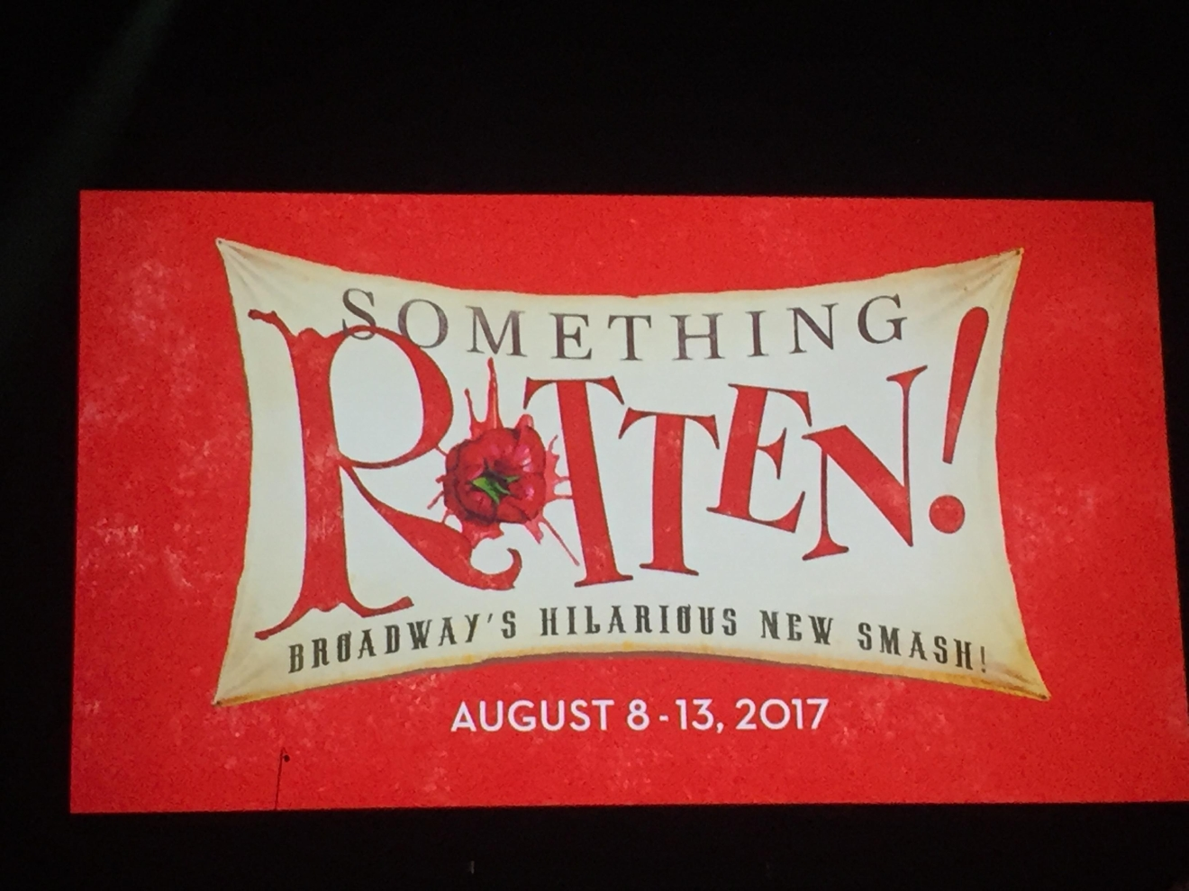 Something Rotten! was revealed as an upcoming tour during the Smith Center for the Performing Arts 2017-2018 Broadway series preview Tuesday, Feb. 28, 2017, in Reynolds Hall. It will run in Las Vegas from Aug. 8-13, 2017 (Jami Seymore | KSNV)