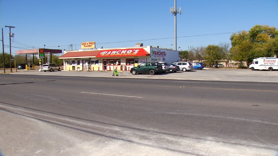 This is a view from the street across the restaurant (News 4 San Antonio).{&amp;nbsp;}{&amp;nbsp;}<p></p>