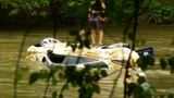 LIVE: Crews work to remove Jaguar from French Broad River