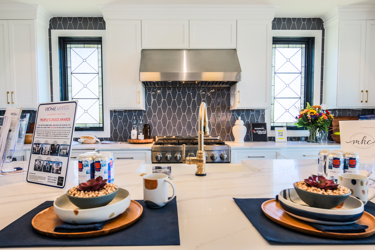 The 2020 HOMEARAMA at Walworth Junction takes place in the Historic East End this year. This is the 57th year for the event and is produced by the Home Builders Association of Greater Cincinnati which showcases brand-new, luxury homes for people to tour all in one visit. The seven featured homes are priced between $1.2 and $1.6 million and were custom-built and designed under LEED-certified construction with high-end appliances and fixtures, patios and rooftop terraces, and views of the city and Ohio River. This gallery highlights six of the seven homes that can be toured through October 25, 2020. ADDRESS: 3107 Walworth Avenue (45226) / Image: Catherine Viox // Published: 10.21.20