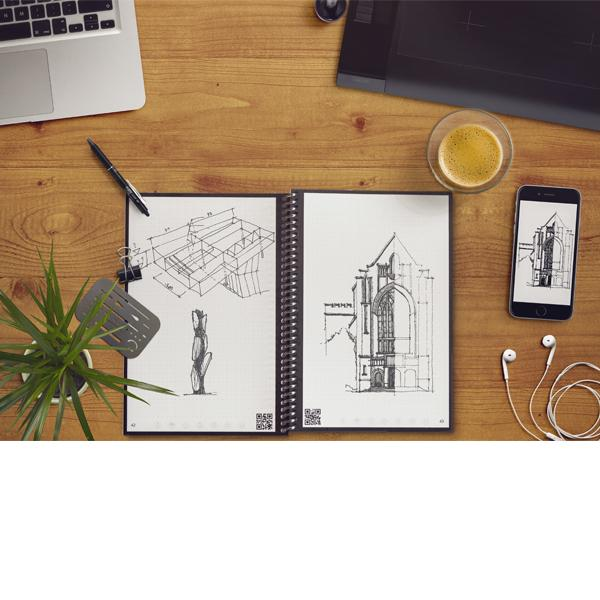 The Everlast notebook provides a classic pen and paper experience, yet is built for the digital age. Although it feels like a traditional notebook, the Everlast is endlessly reusable and connected to all of your favorite cloud services . ($34) (Image: Everlast)