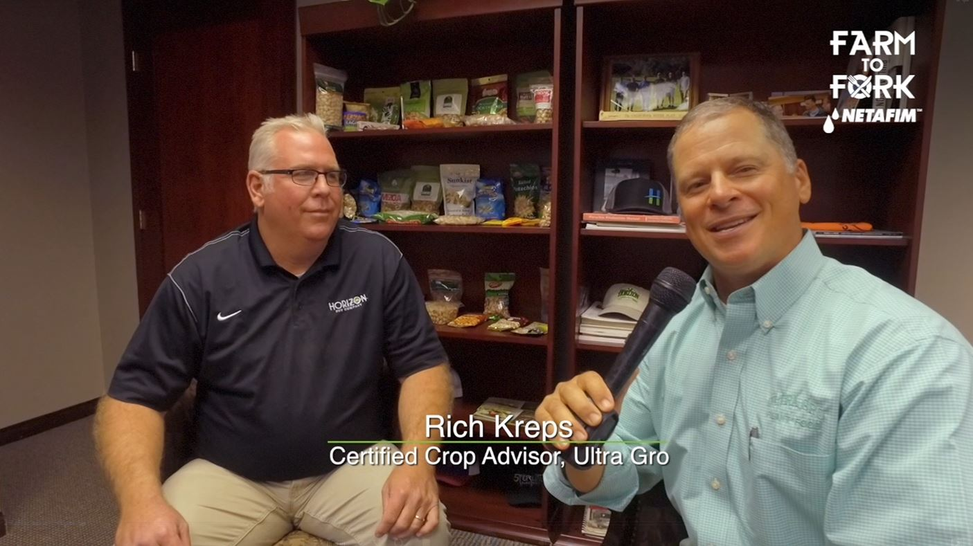 Rich Kreps, a Certified Crop Advisor for Ultra Gro, takes is through the pistachio process from Farm To Fork<p></p>
