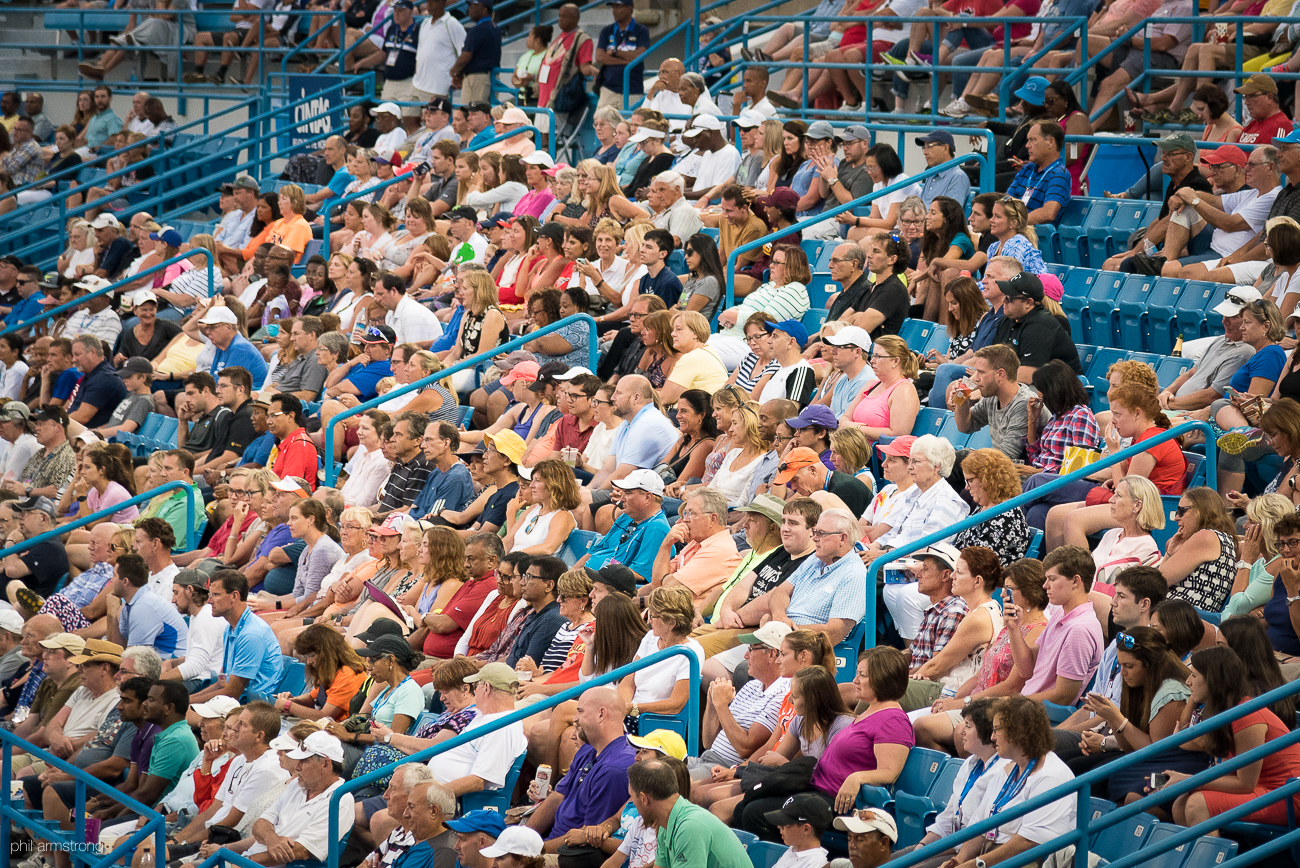 The Western  and Southern Open (August 12-20) is a top tier men's and women's professional tennis event. The event is located at the Lindner Family Tennis Center in Mason, OH. We walked around Monday to capture some action from the day and night sessions. Game on! / Image: Phil Armstrong, Cincinnati Refined // Published: 8.15.17
