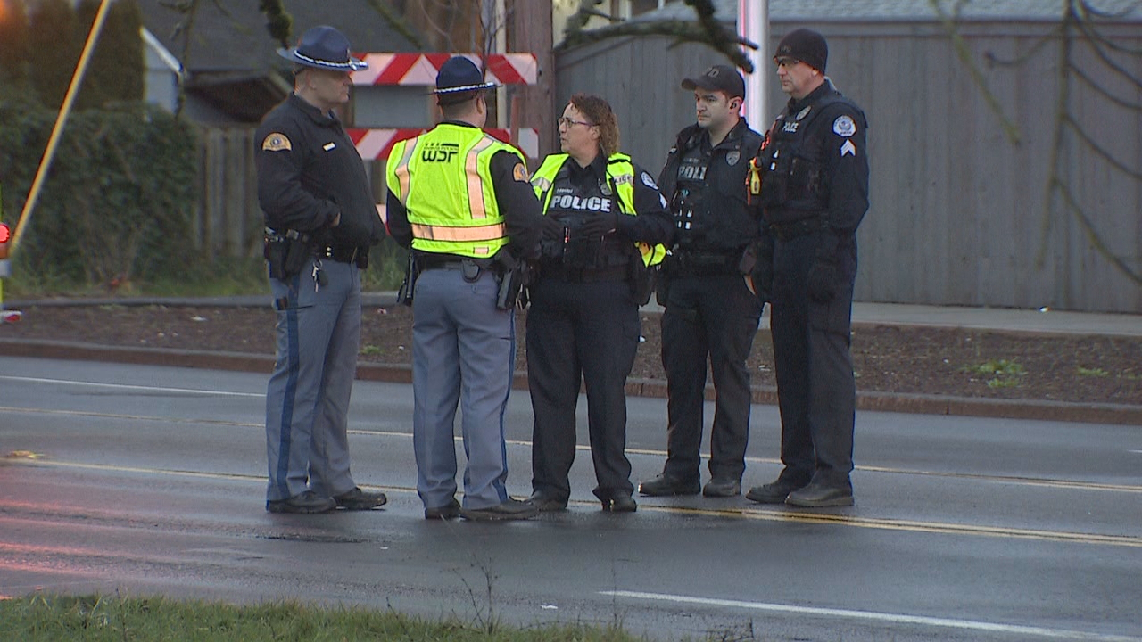 Fire officials say two pedestrians under 20 years old were victims in a deadly crash in Vancouver on Jan. 21, 2020. KATU photo