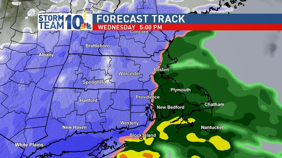 Wednesday storm may bring more rain than snow