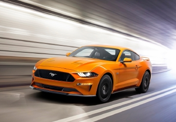 Ford reveals redesigned 'customized' Mustang