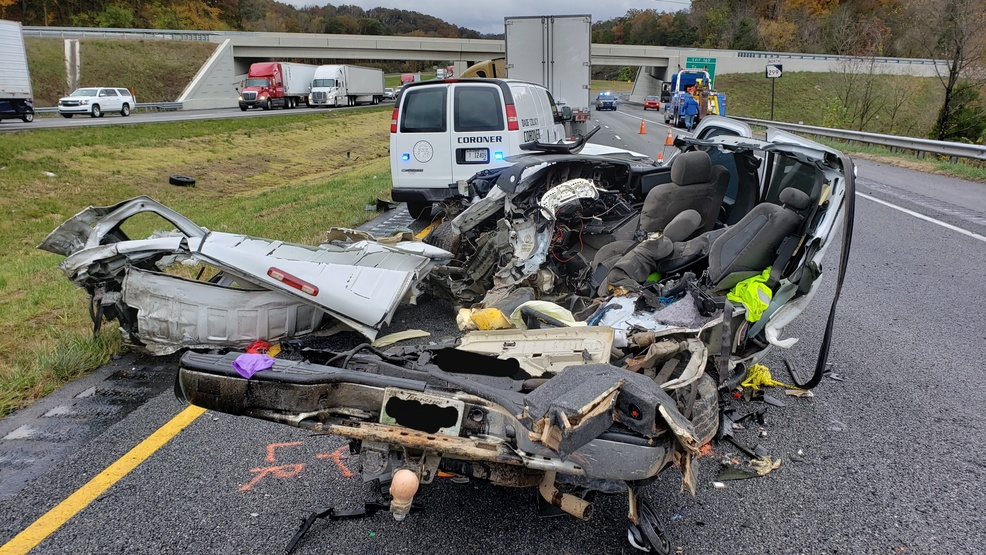 1 person killed in crash with semi-truck on I-24 W near TN